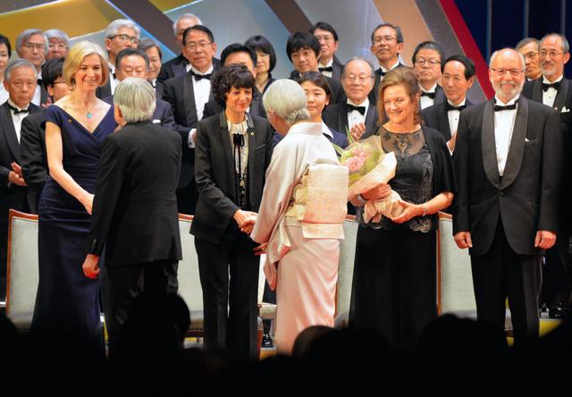 天皇天后陛下出席日本国际奖颁奖仪式