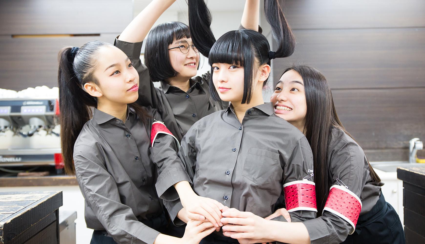 """日本4人女团""""新学院领跑者""""首次挑战声优!献唱《SNS警官》ED ... ..."""