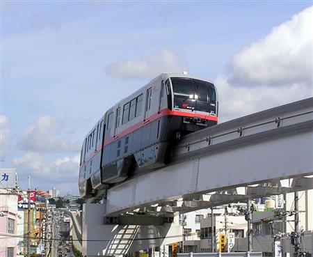 日本冲绳单轨道列车的自动检票口开展面向中国游客的支付宝支付窗口 ... ...