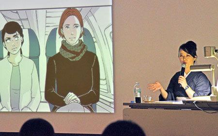 日本漫画家东村明子发表演讲 表示成人需要培养年轻化的才能 ... ...