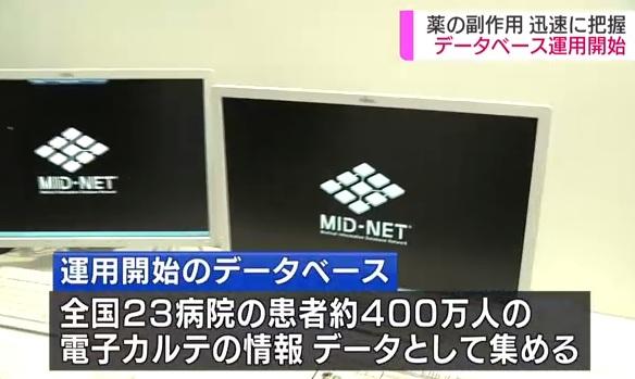 日本首个数据库开始运营 通过分析400万名患者数据研究药物副作用 ... ...