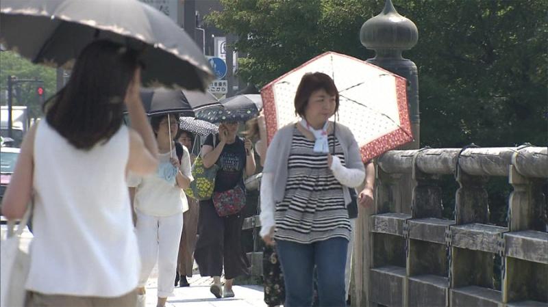 日本因热中暑导致10人死亡 需要持续警戒