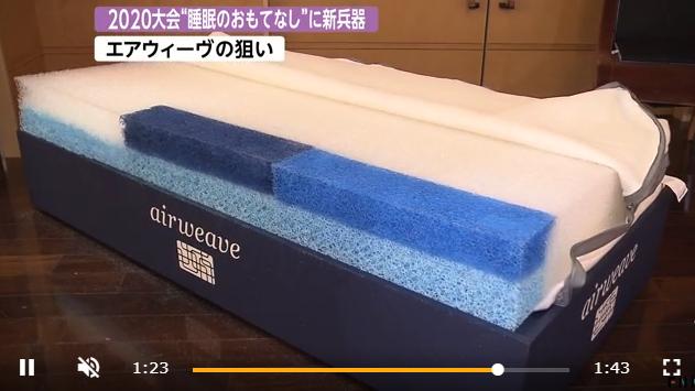 Airweave联手东京奥组委  致力提高奥运参赛者睡眠质量