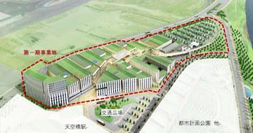 """日本羽田机场旧址建设可容纳3000人的大厅""""Zepp Haneda"""""""