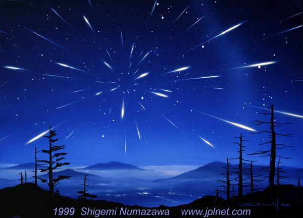 2018年12月13-15日双子座流星雨极大期(ZHR~120)