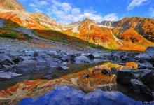 日本第一美--涸沢红叶&百名山奥穂高岳  露营登山
