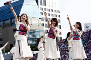 乃木坂46首次在2个会场同时举办演唱会