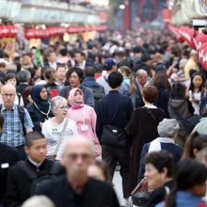 9月份访日游客数量为215万9600人 近6年来首次出现负增长