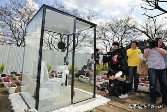 日本设计出全透明玻璃公共厕所,专为女性设计,让人大开眼界!