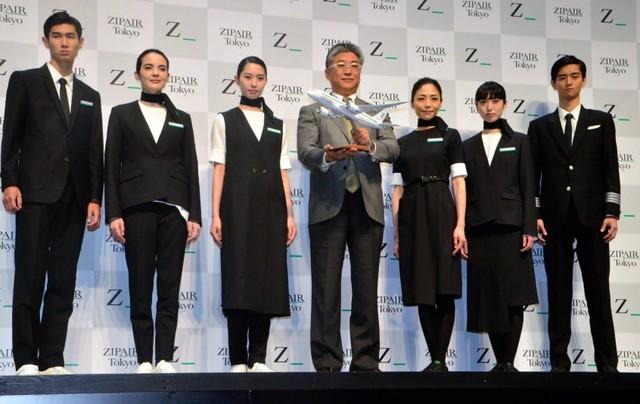 日本空姐的制服 有没有诱惑到你?(组图)