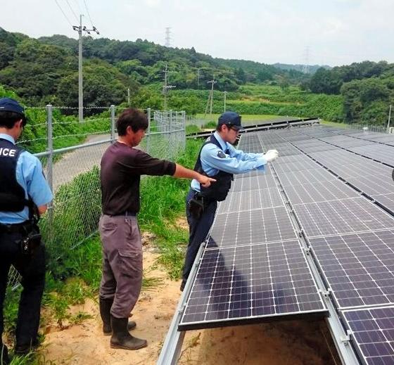 日本太阳能发电板接连遭殃 犯人竟是……(图)