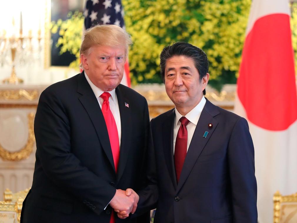 川普:如果美国被打 日本人只会在电视前看戏