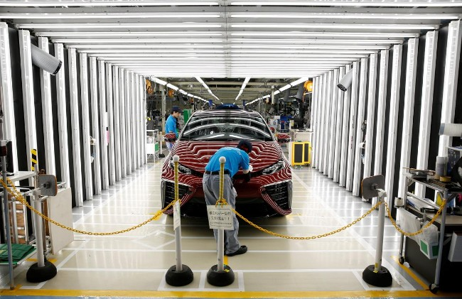 美中贸易战波及 日本大型制造业遭重创