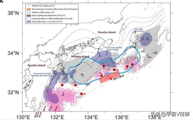日本南海海槽7处发生地震!日科学家:影响难以估量