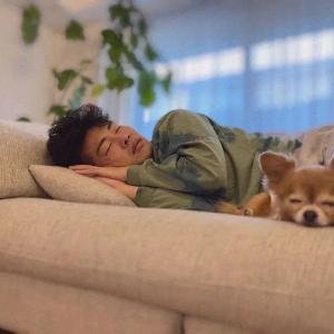 """日本女星ins分享老公睡颜照,无数网友看后表示受到了惊吓:""""太像木村拓哉了""""! ...  ..."""