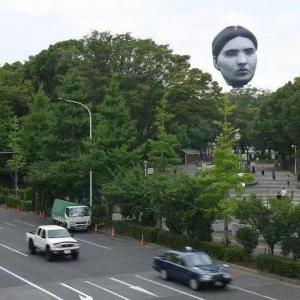 """太灵异了!今天日本东京上空浮现神秘 """"大脸"""""""