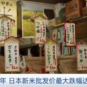 批发价跌幅达27%!唯一可以自给自足的粮食供需失衡,日本做出重要决定 ...