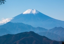 百蔵山--扇山纵走 富士山展望日归登山
