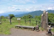 周末登山之大野山 富士山や相模湾の素晴らしい眺め 7/12